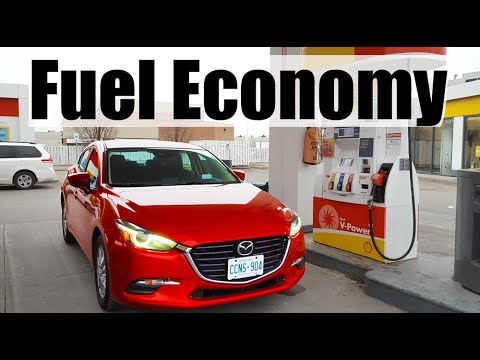 2018 Mazda 3 Fuel Economy MPG Review + Fill Up Costs