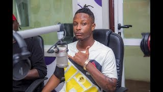 Stonebwoy ly introduces Kevlyn Boy on Atuu TV