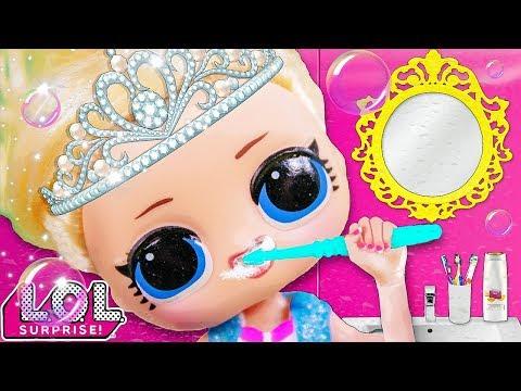 УТРО ПРИНЦЕССЫ ЛОЛ! Мультики куклы лол и Барби, Подруги Буги Вуги