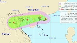 Tin Bão Mới Nhất: Bão Số 4 trên Biển Đông đang mạnh dần lên với gió giật mạnh liên tục