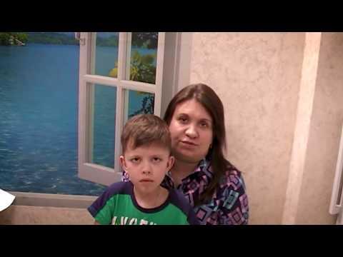 Ольга и сын Алексей (8 лет) Миопатия Ульриха -  история жизни с редким заболеванием г. Омск