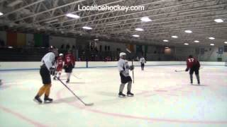 Ray Wilson scores from Brett Gravelle and Zach Lam at Wenatchee Wild Camp