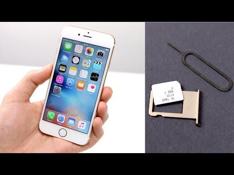 Apple iPhone 6s / 6s Plus: Einrichten & Nano-Sim Einlegen (Deutsch) | SwagTab