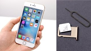 Apple iPhone 6s / 6s Plus: Einrichten & Nano-Sim Einlegen (Deutsch) | SwagTab