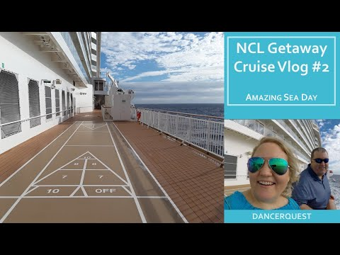 Norwegian Getaway Cruise Vlog #2 - January 21, 2018 - Sea Day