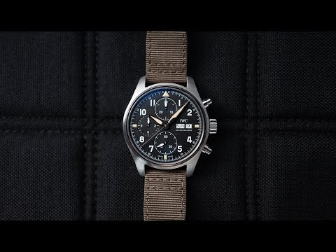 Review: A Versatile Tool Watch With Vintage Charm | The IWC Pilot's Watch Chronograph Spitfire