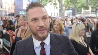 Tom Hardy interview at the Dunkirk world premiere