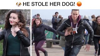 He Stole My Dog! Prank 😂