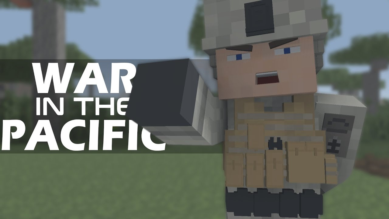 Minecraft War in the Pacific