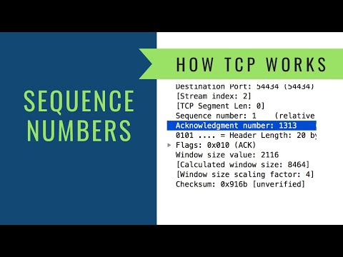 How TCP Works - Sequence Numbers - YouTube