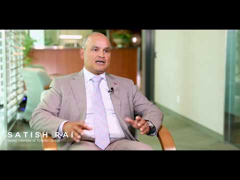 OMERS Capital Markets CIO Satish Rai says Toronto Region is known for its banking industry