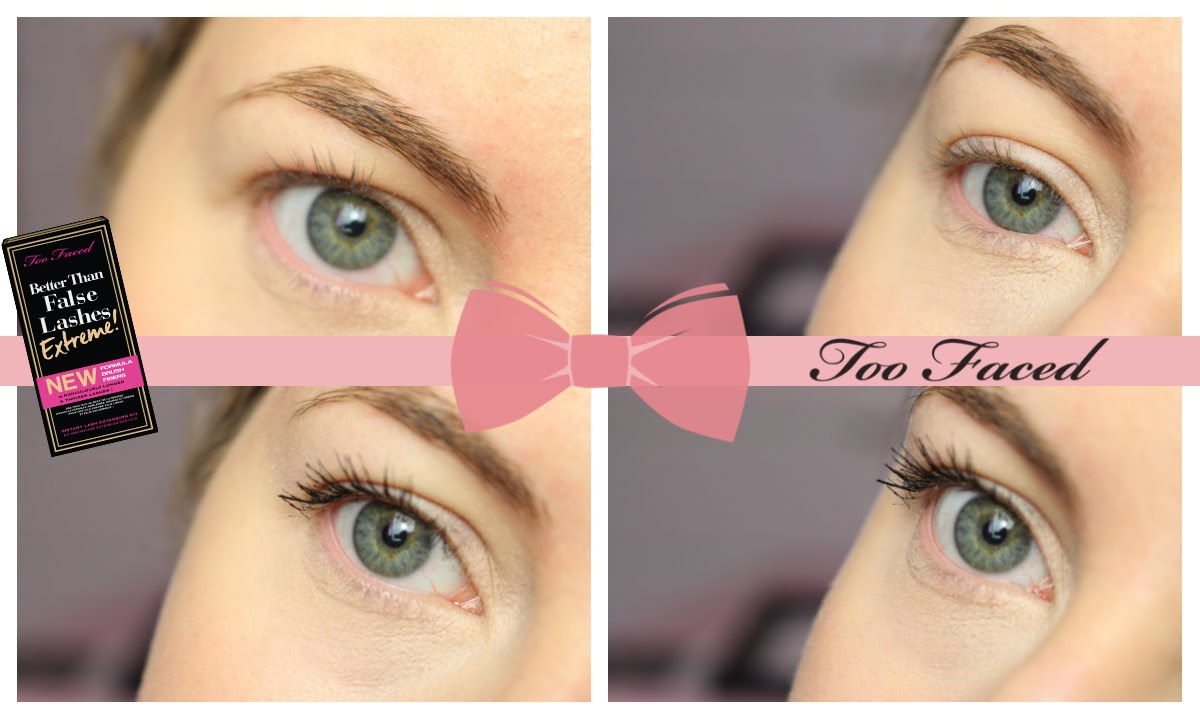 Demo} Better than false lashes extreme - Too Faced - YouTube