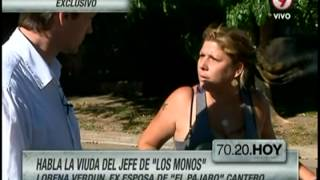 """Habla Lorena Verdún, ex esposa de """"El Pajaro"""" Cantero"""