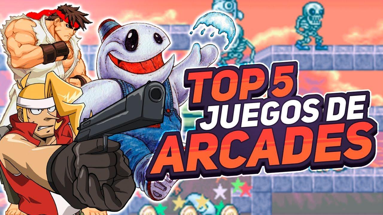 Top Juegos De Arcade Youtube