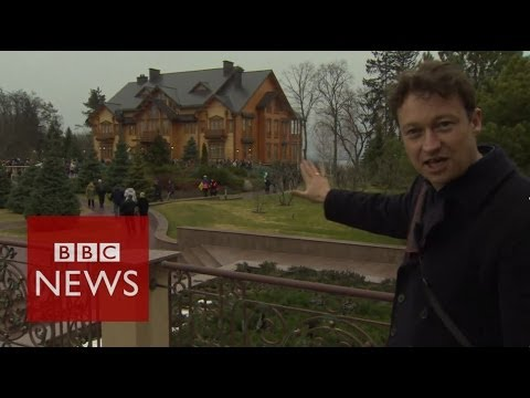 Revealed: Yanukovych's luxurious country estate - Ukraine Crisis - BBC News