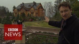 Repeat youtube video Revealed: Yanukovych's luxurious country estate - Ukraine Crisis - BBC News