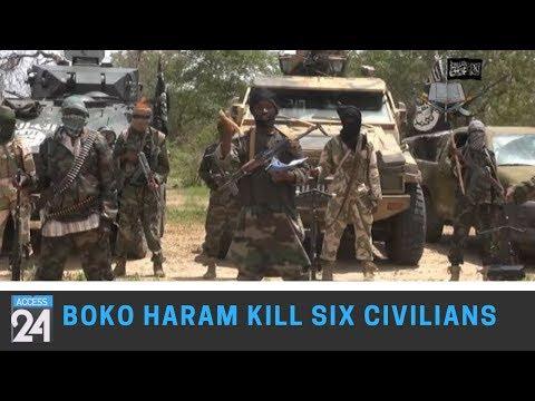 Boko Haram Kill Six Civilians In Cameroon.