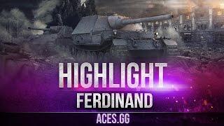 Доктор Порше в деле! Ferdinand в World of Tanks!