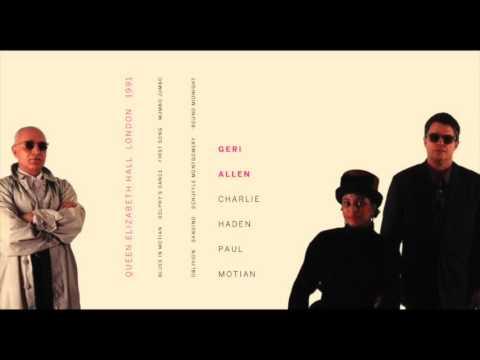 Geri Allen Charlie Haden & Paul Motian:  in London 1991