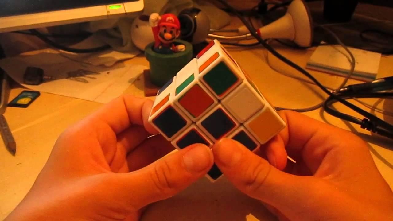 кубик рубика схема фридриха