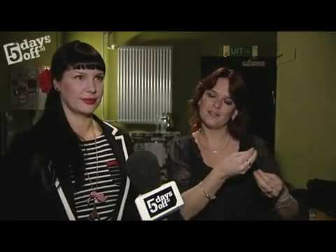 Interview Miss Kittin @ Sencity - 5 days off Amsterdam | Melkweg | 5 mrt 2010