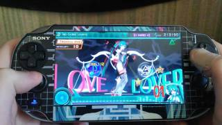 Ps Vita Hatsune Miku Project Diva F 2nd Two Sided Lovers (Hard Excellent)