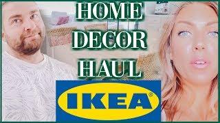 IKEA Furniture & Home Decor Haul   Sam & Jay