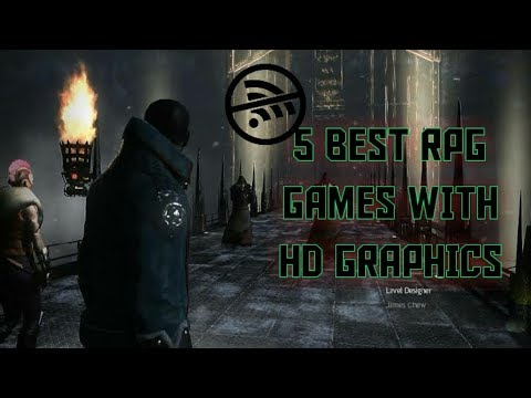 5 BEST OFFLINE RPG GAMES WITH HD GRAPHICS (ANDROID/IOS)