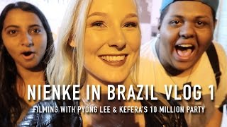 NIENKE IN BRAZIL VLOG 1 - FILMING WITH PYONG LEE & KEFERA