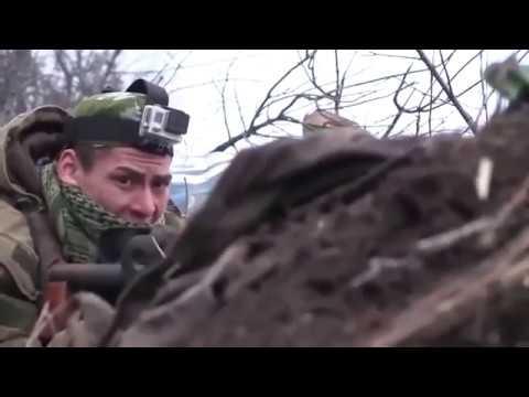 Донбасс. Бой на
