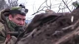 Донбасс. Бой на передовой. Из последнего.