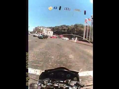 Honda Silver Wing Kiev ride 2