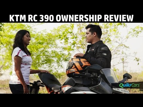 KTM RC 390 Long Term Ownership Review | QuikrCars