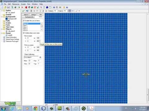 Game Design 1 - Wingman Sam 1: Player Plane, Views, Panel, Bullet