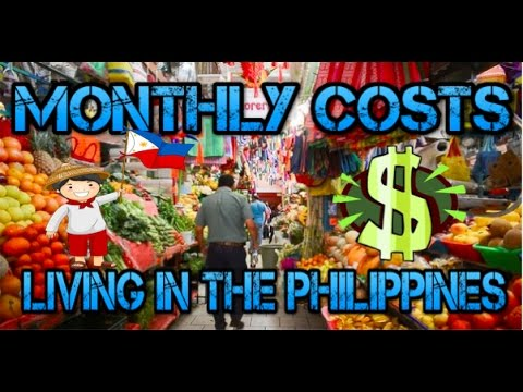 Philippines: Cost of Living in Cebu City 2017 ✅