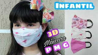 Mascara 3D Infantil – Como Fazer Molde e Costura