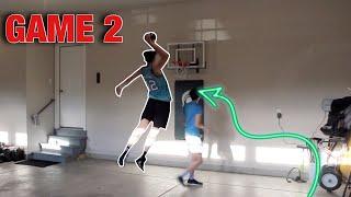 He Doesn't Miss!!! (mini Basketball)