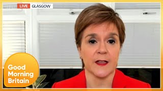 Why Is Scotland Looking to Open Schools 2 Weeks Before England? | Good Morning Britain