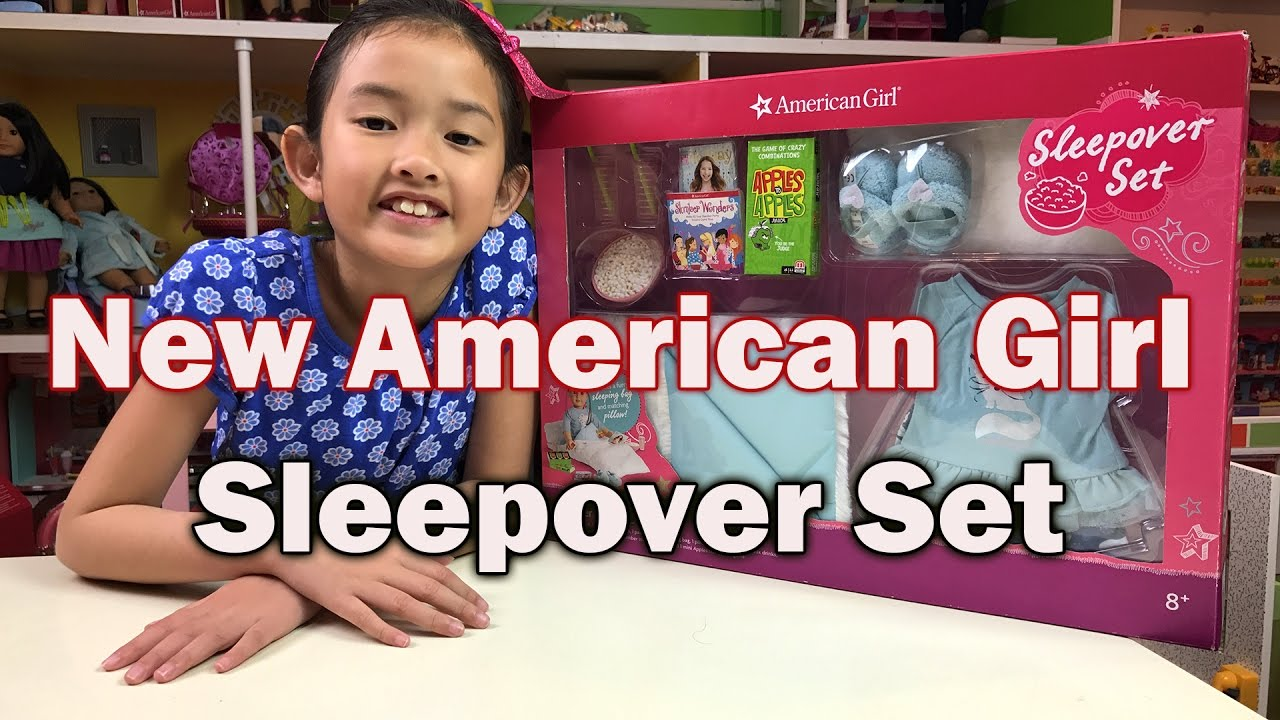 new american girl doll sleepover set from costco youtube. Black Bedroom Furniture Sets. Home Design Ideas