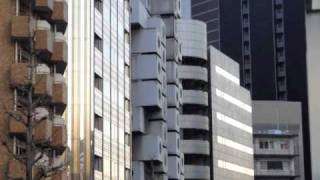 Nakagin Capsule Tower Tokyo Japan