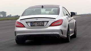 840HP Mercedes CLS63 AMG w/ TTH Turbo - FAST Accelerations On The 1/2 Mile!
