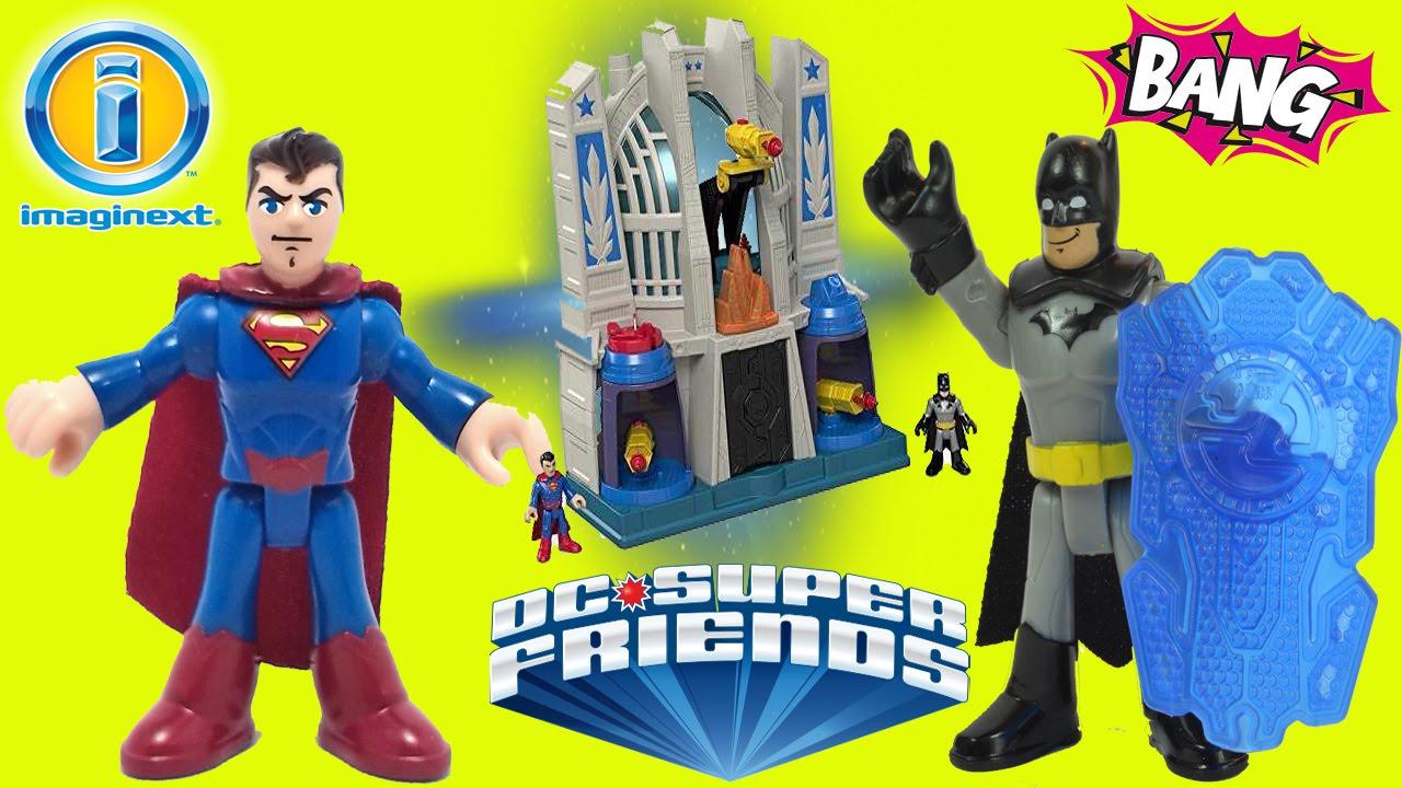Imaginext Dcsuperfriends El Salon De La Justicia Batman Vs