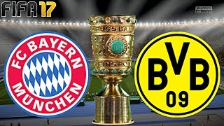 FIFA 17 - FC BAYERN MÜNCHEN vs. BORUSSIA DORTMUND | DFB POKAL FINALE ◄FCB #61►