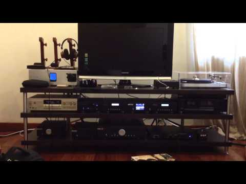 Musical Fidelity M1 CDT/DAC/PWR and M6i amp with ProAc D18