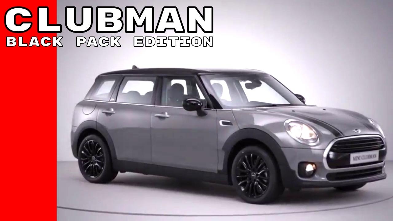 2017 Mini Clubman Black Pack Edition Youtube