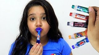 shfa  learning lipstick colors | Makeup for kids