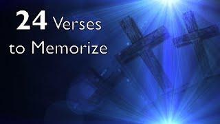 24 Scriptures to Memorize