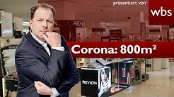 Wegen 800m²-Regel: Entschädigung für Kaufhausketten? | Rechtsanwalt Christian Solmecke