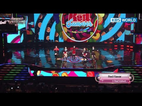 Red Velvet - Red Flavor / 레드벨벳-빨간맛[2017 KBS Song Festival - 2017 KBS가요대축제/2017.12.29] - 동영상