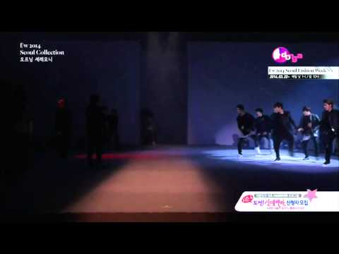140321 EXO - [FULL] Catwalk + Growl Remix, SEOUL FASHION WEEK [HD]